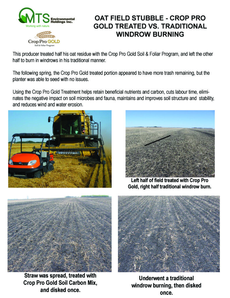 Oat Field Stubble Residue jpg