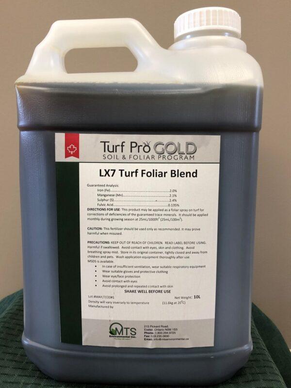 Turf Pro Gold LX7 Foliar